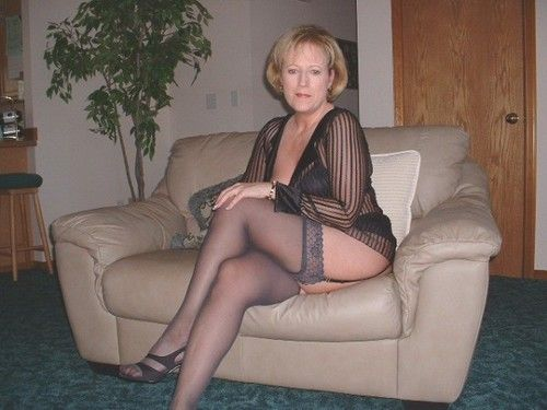 granny in stocking pics