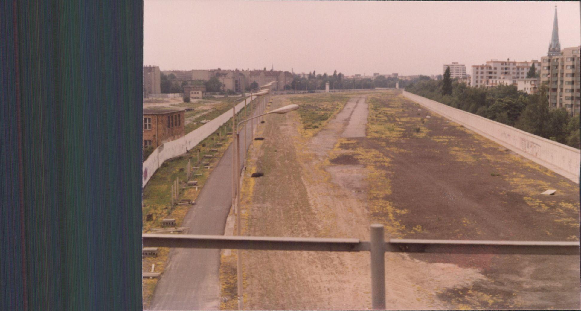 Nordbahnhof 1990 Berliner Mauer Berlin Geschichte