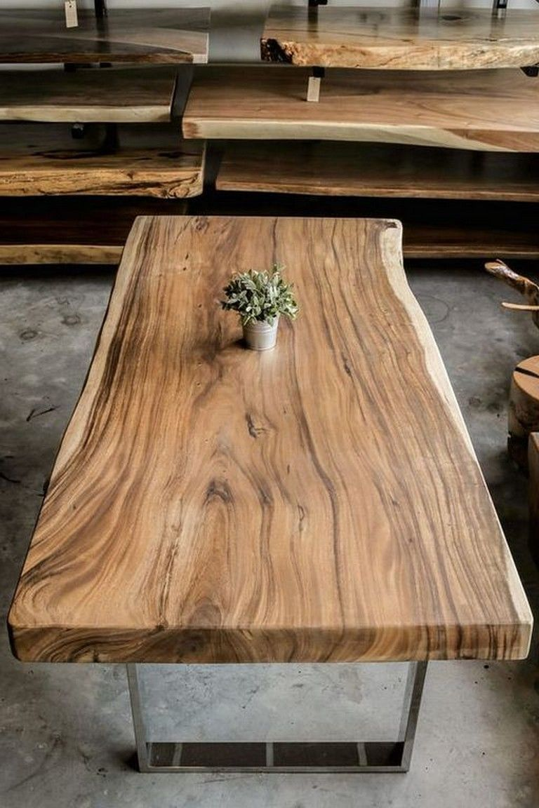 24 Stunning Natural Wooden Table Designs You Can Add To Your Collection Designideas Designsforliving Coffee Table Wood Diy Coffee Table Rustic Coffee Tables [ 1152 x 768 Pixel ]