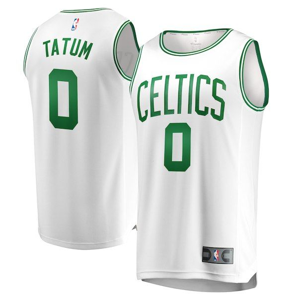 buy popular 289bd 42df9 Jayson Tatum Celtics Jersey - White, S-3XL, 4XL, 5XL ...