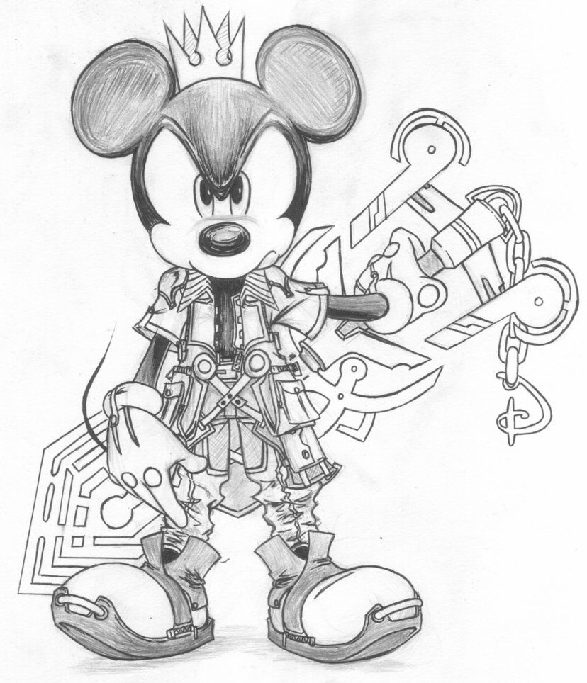 King Mickey Fan Outfit By D Aspiringameture B King Drawing Kingdom Hearts Art Mouse Drawing