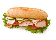Sub sandwiches.