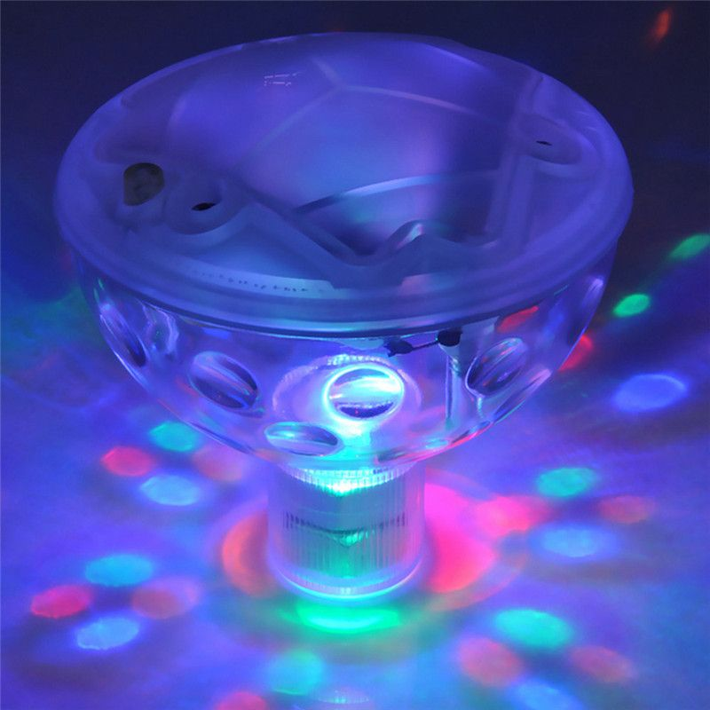 Goryachaya Plavayushej Underwater Led Disko Svet Bassejn Goryachaya Vanna Spa Vodonepronicaemyj Led Light Fountain Lights Floating Pool Lights Underwater Led Lights