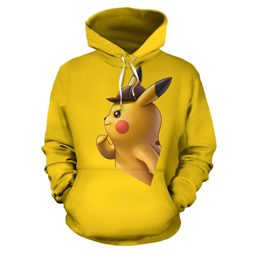 Detective pikachu hoodie pikachu hoodie hoodies detective