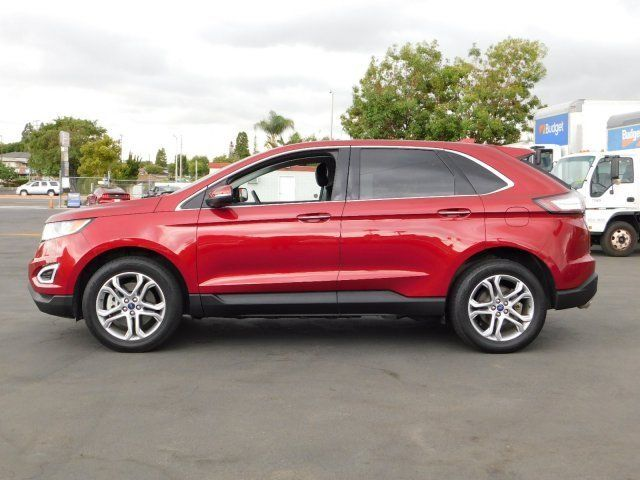 Buy Used Red Ford Edge With  Budget Car Sales