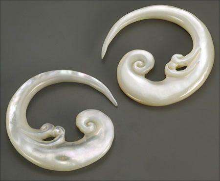 Immortal Geisha Bone Hanger Organic Body Jewelry 3mm-6mm Price Per 1