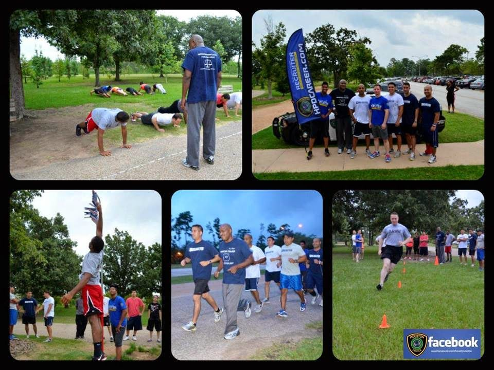 Run With Your Recruiter July 18th Houston police department