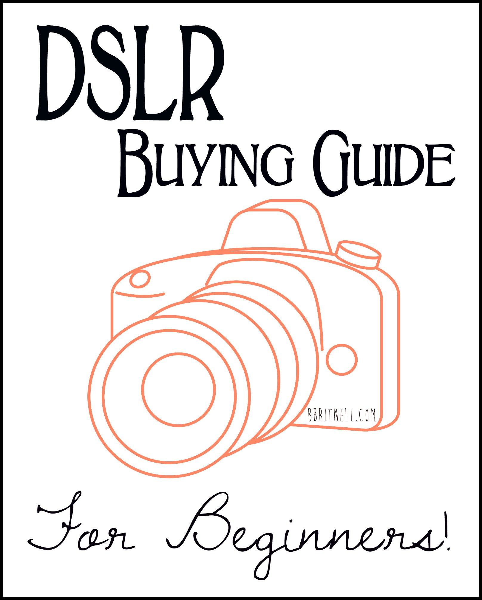This Guide Goes Through MY Recommendations For DSLR Gear