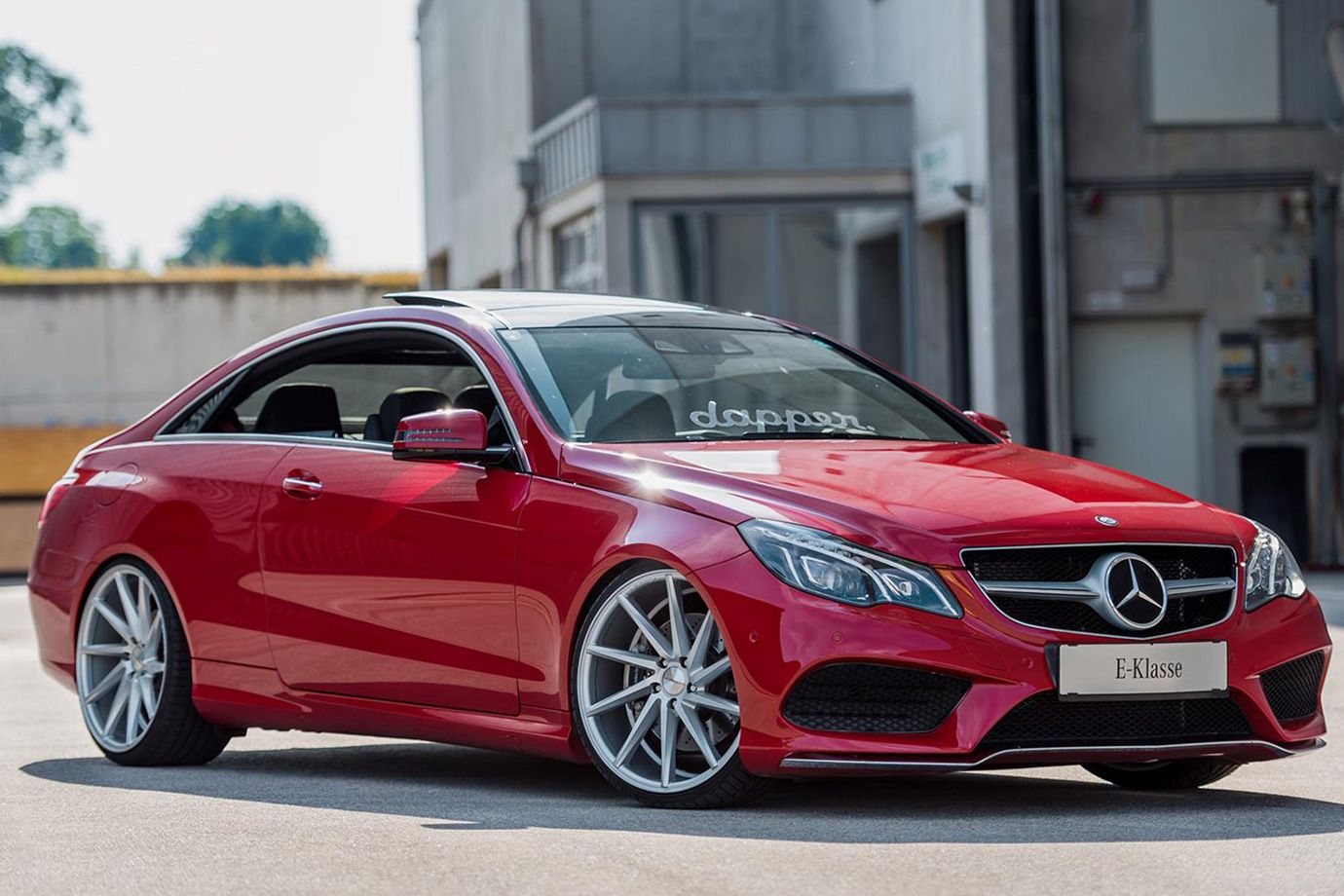 Mercedez Benz C207 E Class Coupe With Vossen Cvt Wheels Mercedes
