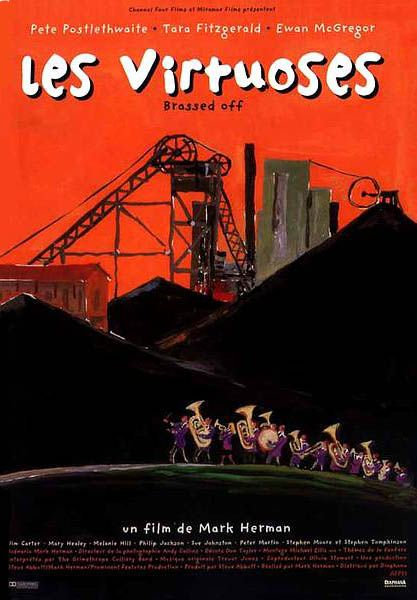 French poster (Brassed Off)