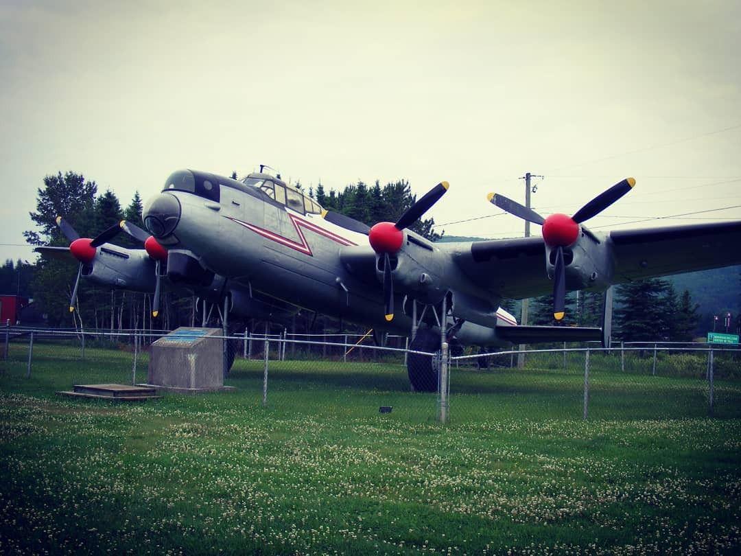 Avro Canada Lancaster MkX AR KB882 at Edmundston NB July