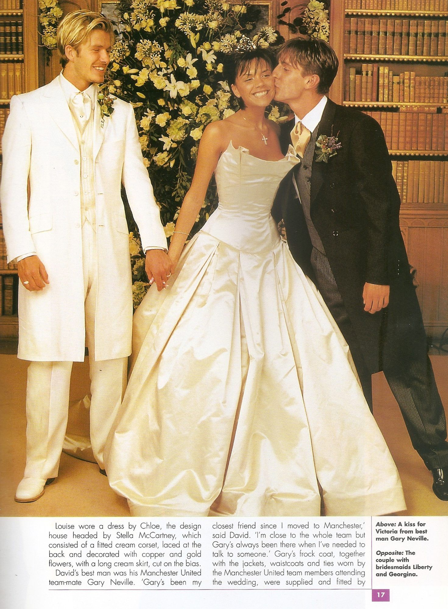 The Beckhams Photo: David and Victoria - Happy 14th Wedding Anniversary