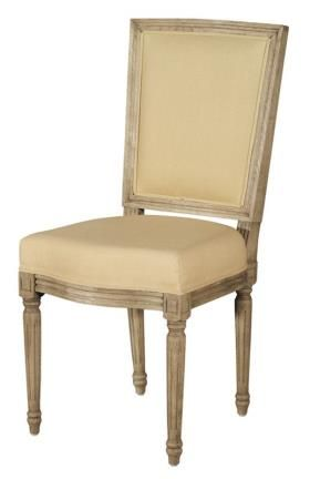 Meuble chaise marie antoinette tissu mobilier chaises signature mobiliers signature - Signature meubles ...