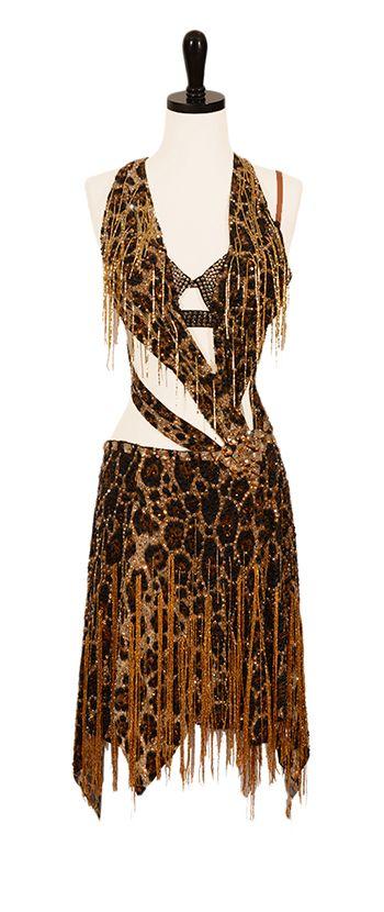 Hellcat Rhythm & Latin Dresses Encore Ballroom Couture