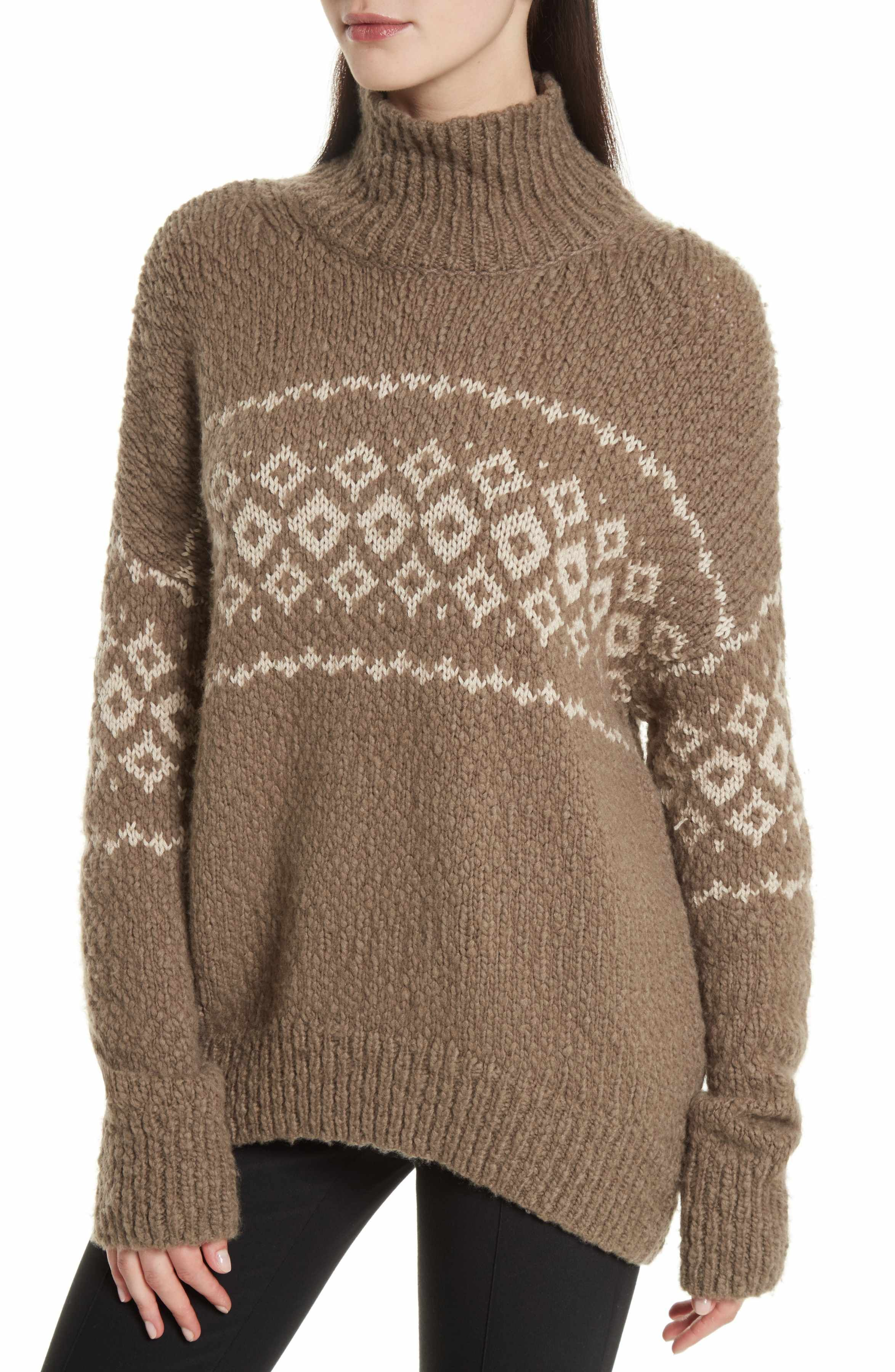 Main Image - Vince Fair Isle Turtleneck Sweater | TO BUY: FALL ...