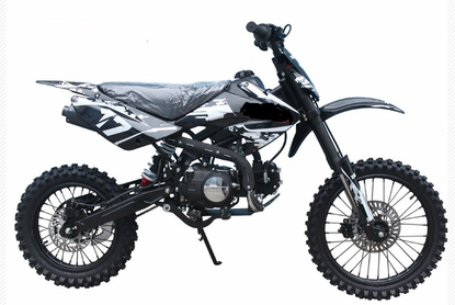 Jet Moto Xr 17 125cc Deluxe Dirt Pit Bike With Extra Large 17