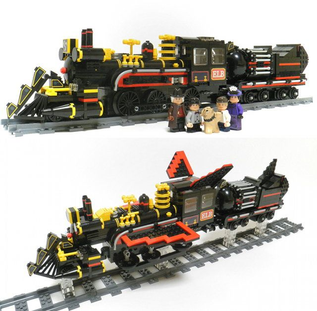 Back To The Future III's Time-Traveling Train LEGO Set | My