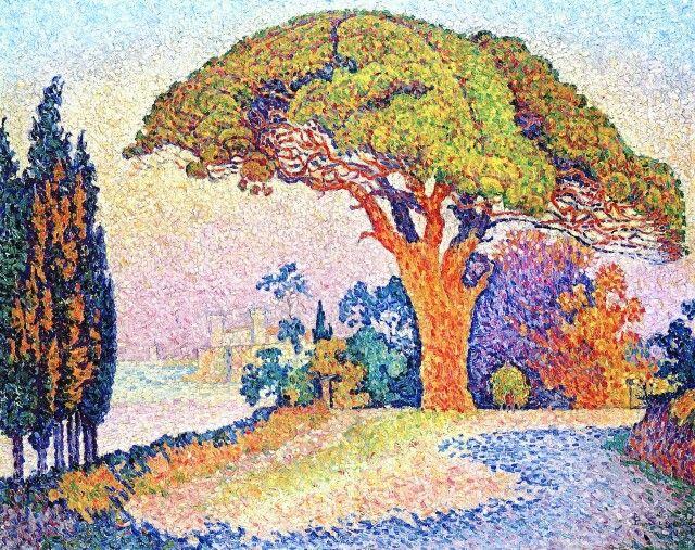Populaire préféré The Pine of Bertaud, Saint-Tropez, 1900. Paul Signac   artists @PC_87