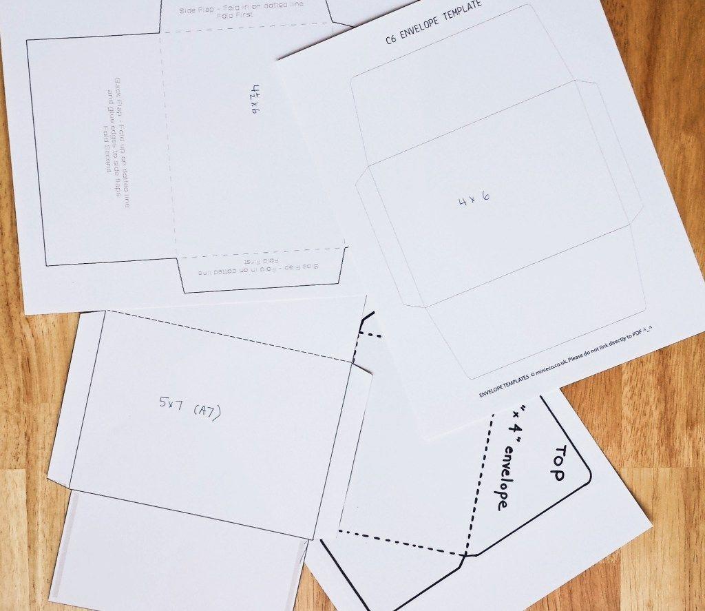 How To Make Handmade Envelopes With Homemade Envelope Glue