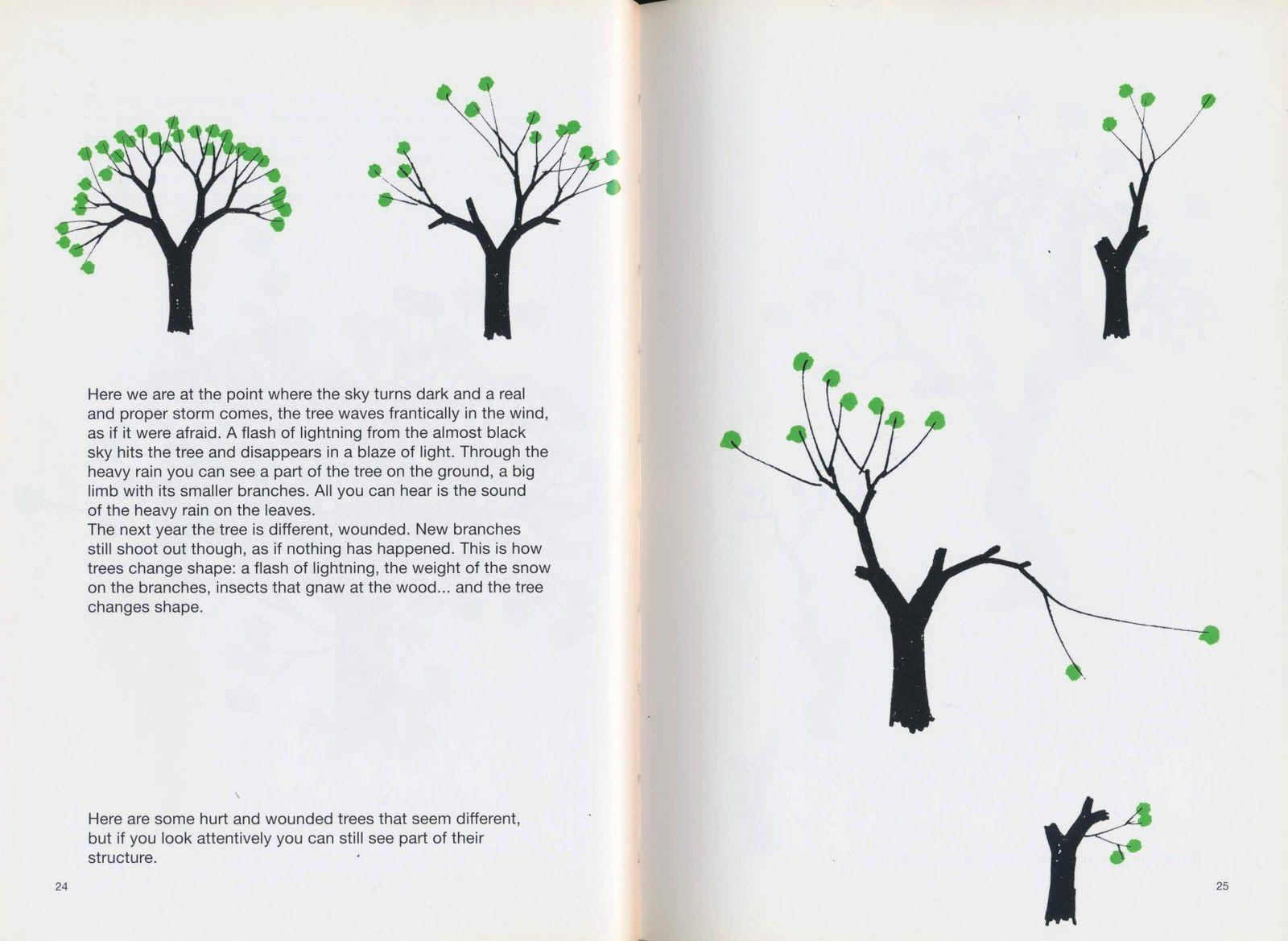 Drawing A Tree Bruno Munari Tree Drawing Bruno Munari Drawings