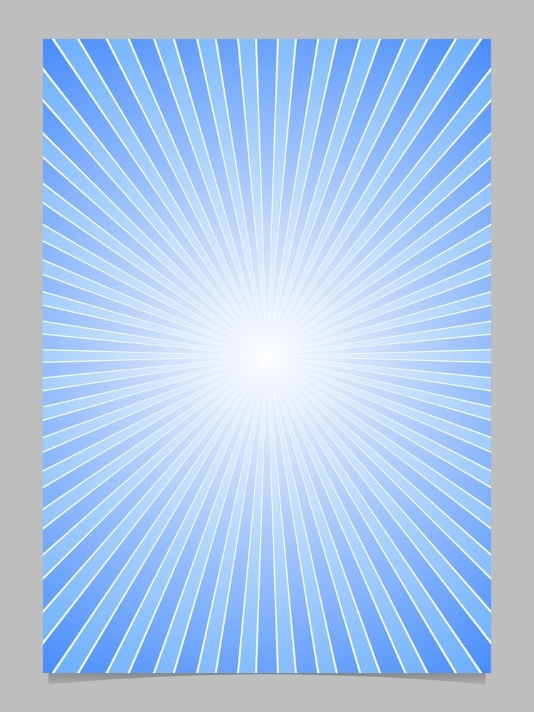 23b85fb9a67 Blue sun burst page template - gradient vector brochure background ...