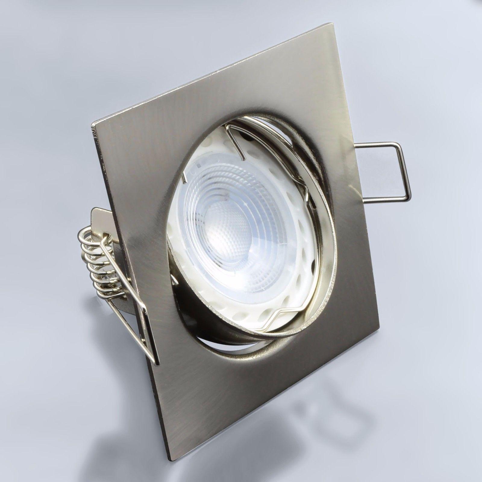 Einbaustrahler Einbauleuchte Spot Schwenkbar LED 3W SMD GU10 Einbauspot 104