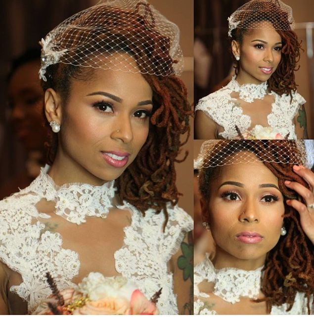 Dreadlock Wedding Hairstyles: You Would Never Guess What Makes This Faux Locs Protective