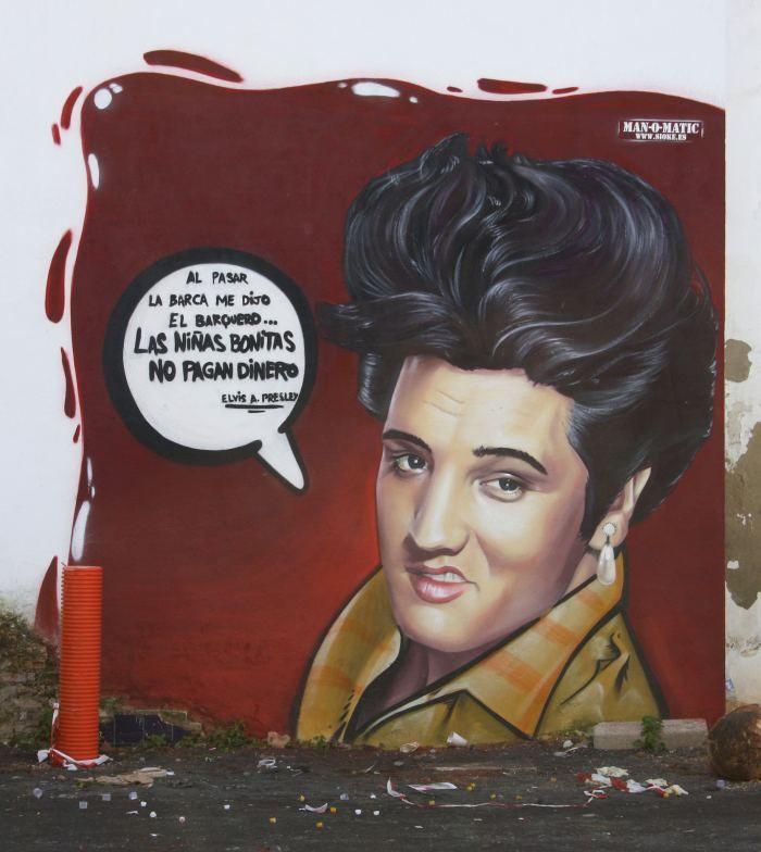 Уличный художник из Испании. Man O Matic (стрит арт)