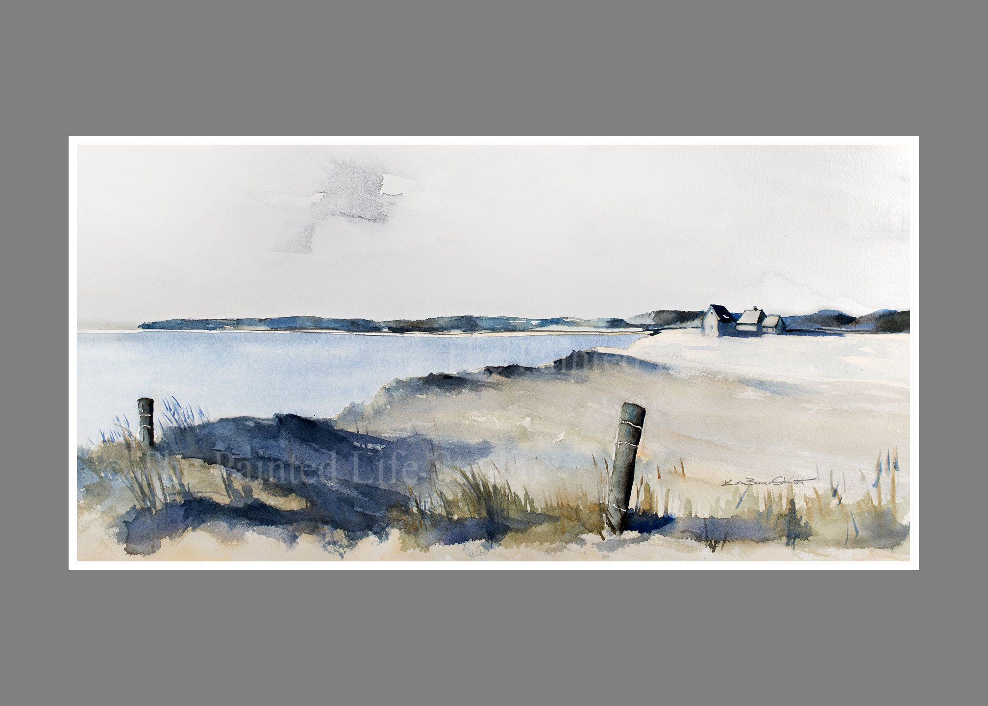 Beach Dunes wall art print,