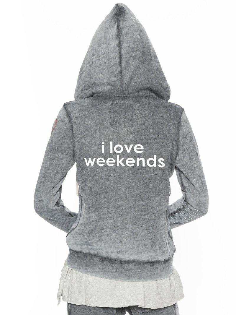 I Love Weekends® Love2Love Light Hoodie