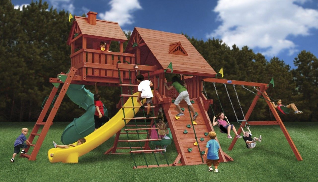 Best All Around Swing Set The Colossal Kingdom is the best ...