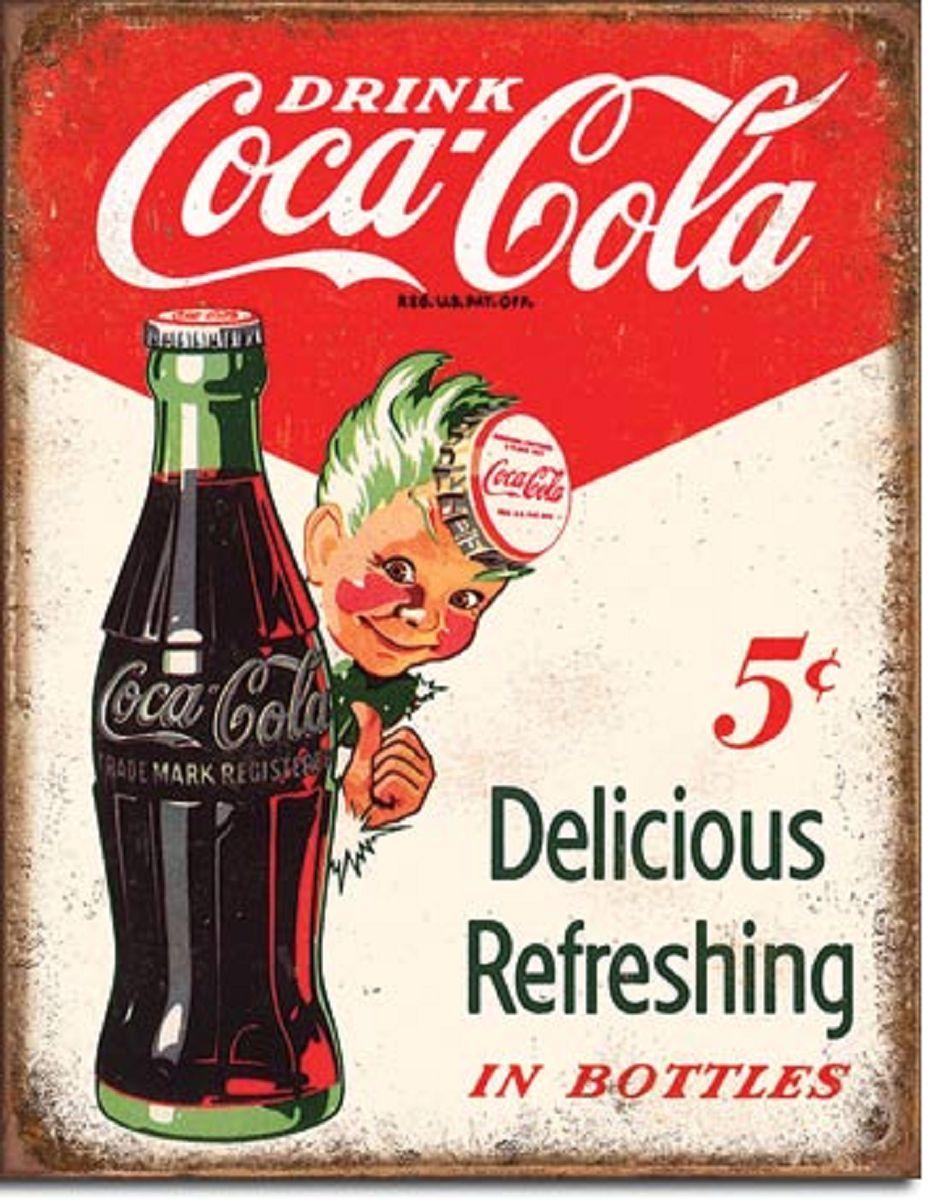 657953ad4d8fa Coca Cola Sprite Boy METAL POSTER tin sign