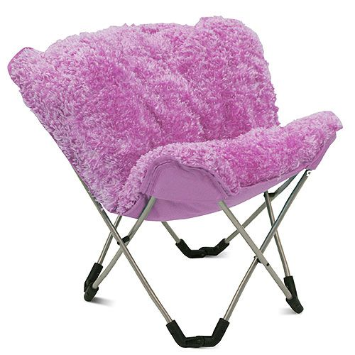 lounge chairs for teens room padded butterfly chair pink poodle