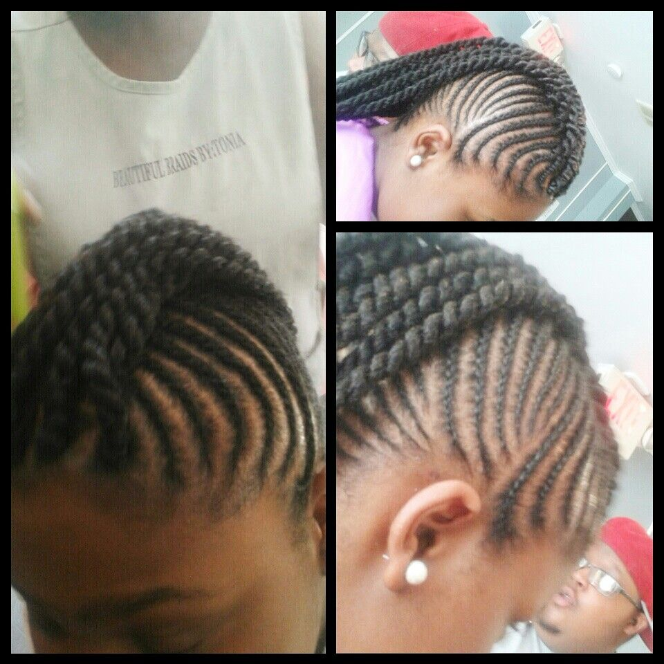 Styled by tonia cornrows pinterest cornrows