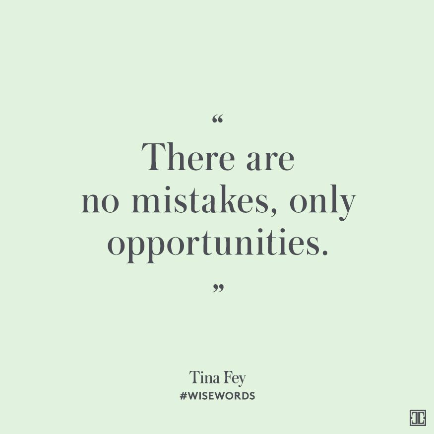 WiseWords from Tina Fey Tina fey, Wisdom and Inspirational - affirmative action plan