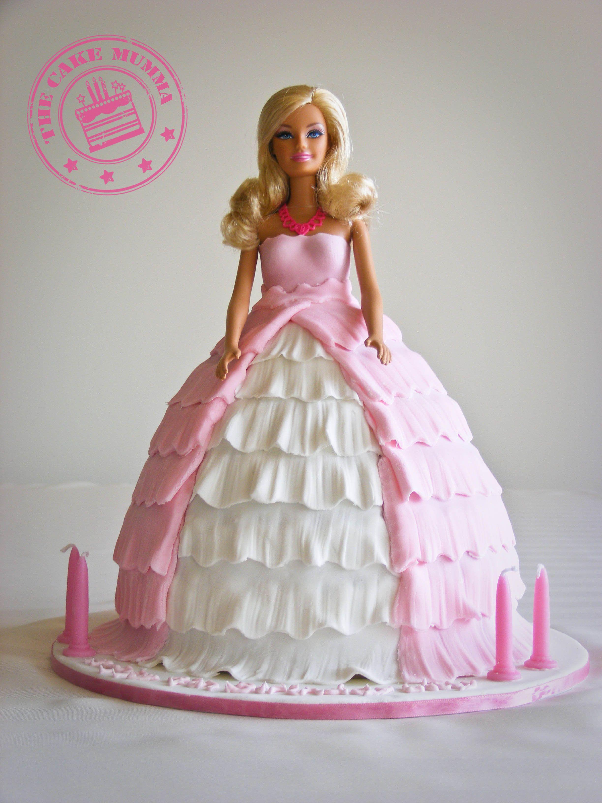 Barbie Cake Barbie Birthday Cake Barbie Cake Princess Doll Cake