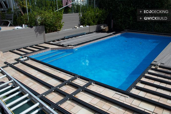 Pool Side Deck Pool Non Slip Deck Deck Over Tiles Deck For Pool Deck Renovation Deck Frame Gallery Deck Decking Id Building A Deck Deck Framing Pool Decks