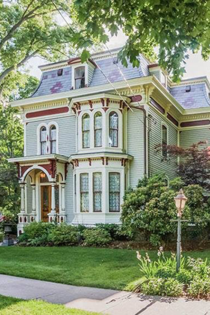 #oldhouse #victorian CLICK PIC FOR MORE PHOTOS OF THIS 1876 Second Empire For Sale In Glastonbury Connecticut #vintage house 1876 Second Empire For Sale In Glastonbury Connecticut — Captivating Houses