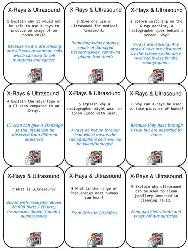 AQA Physics P3 Quiz Quiz Trade cards | Secondary: GCSE Science ...