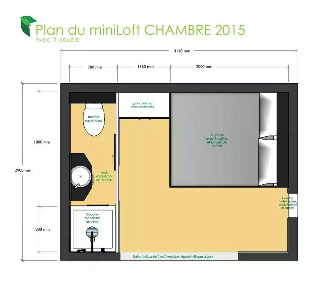 Chambre 12m2 Chambre Parentale Plan Amenagement Chambre Deco Chambre Parental