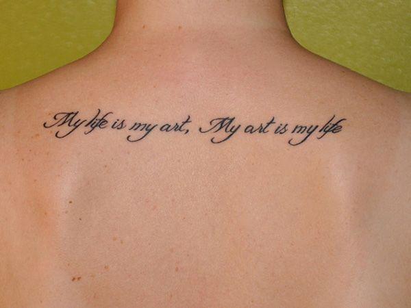 Short Inspirational tattoos