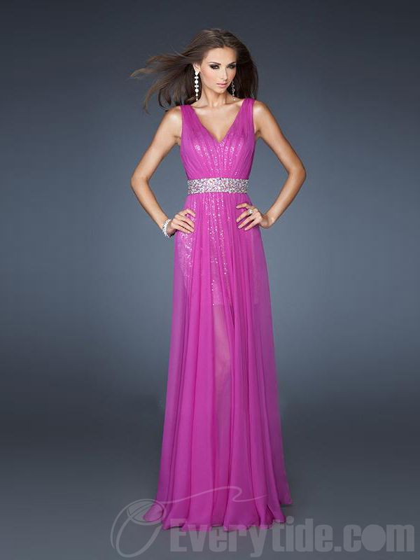 $139.99 Free Shipping Long Pink Prom Dress | Dresses♡ | Pinterest