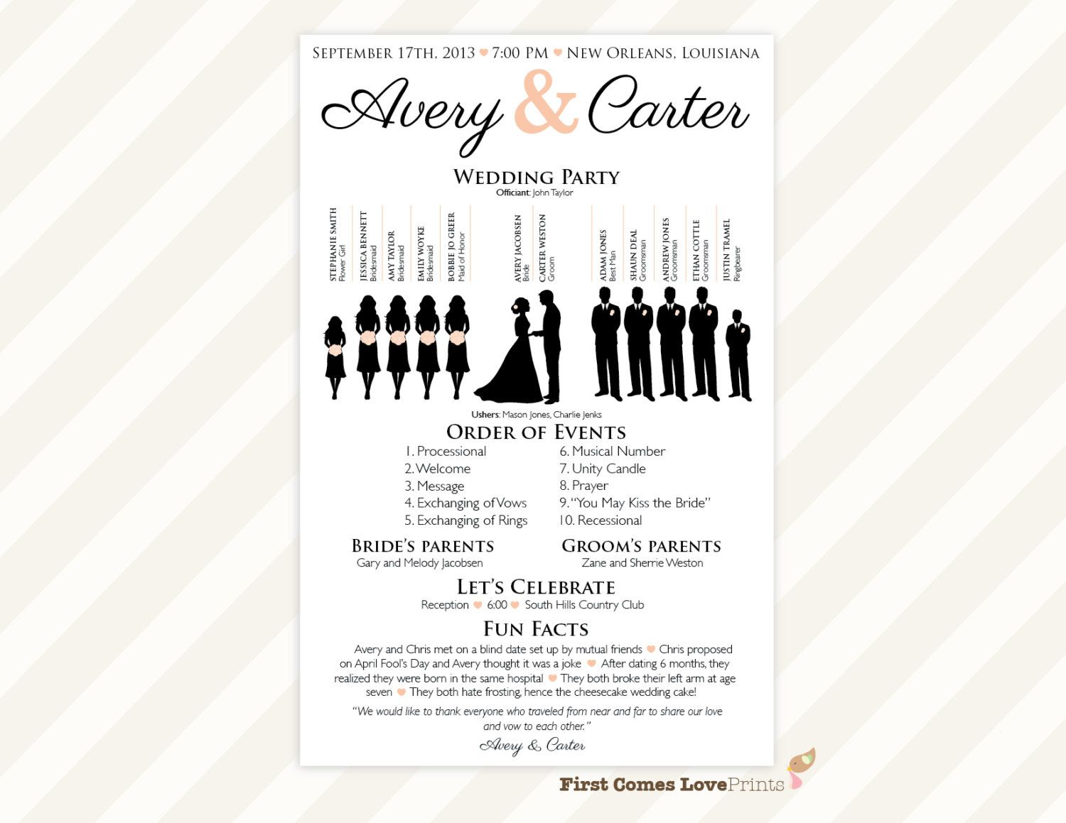 17 Best images about Wedding programs on Pinterest | Program ...