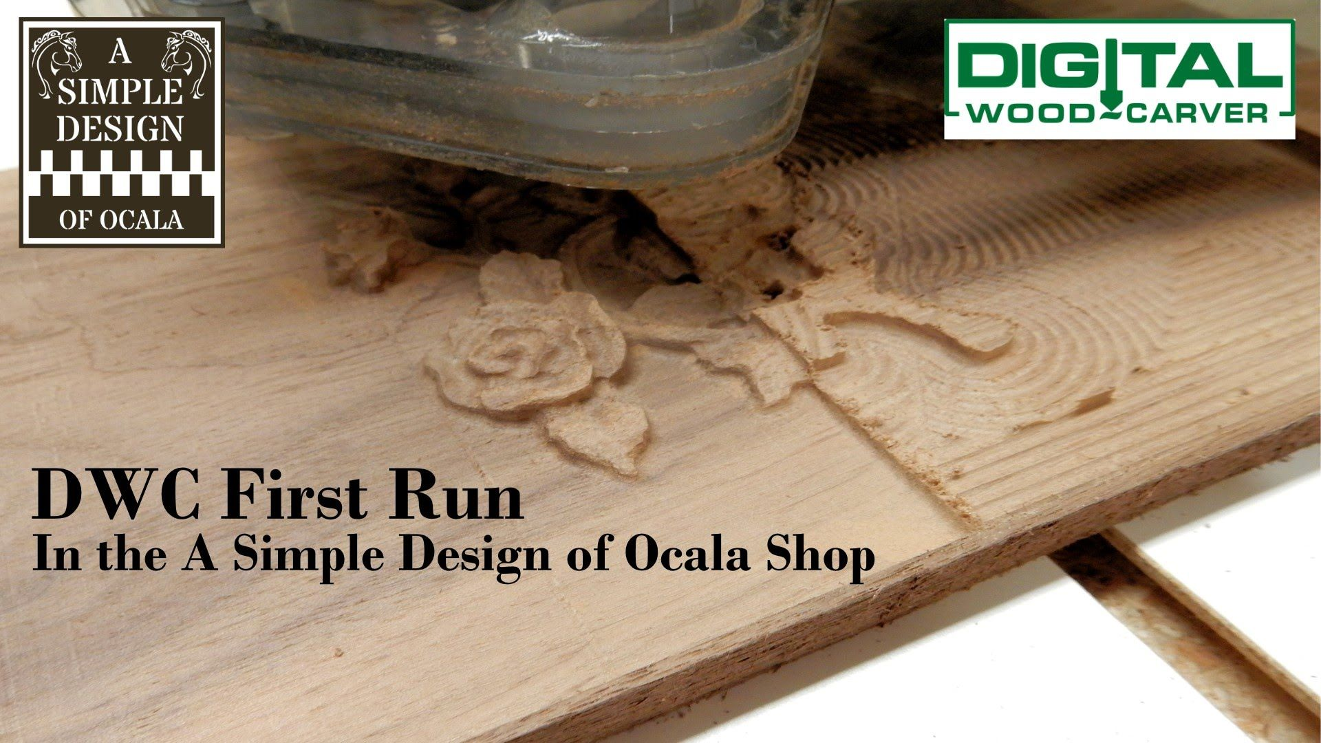 This Is The First Run Of My New Digital Wood Carver Cnc This Piece