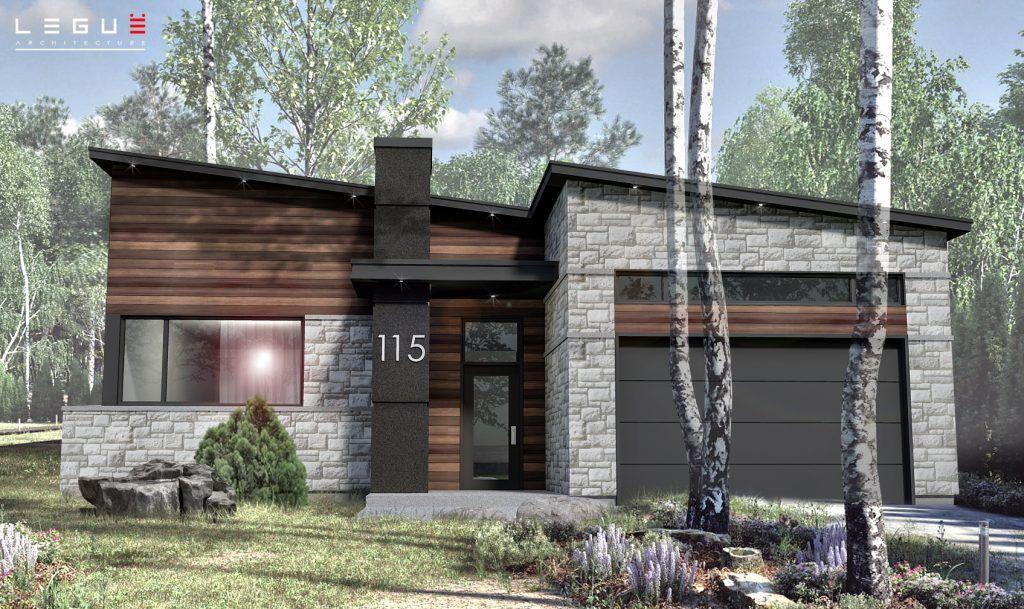 Plan de Maison Moderne Ë_115 Leguë Architecture Dream Home - plan de maison originale