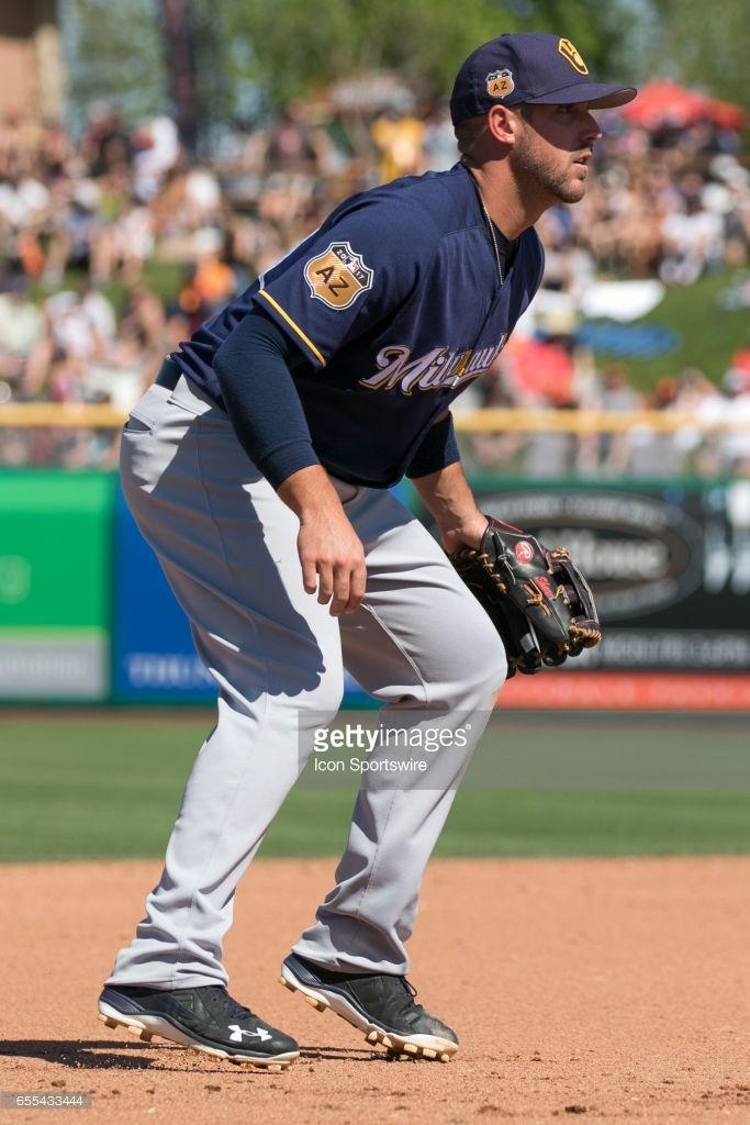 Travis Shaw Milmarch 19 2017 At Sf Scottsdale Az Baseball