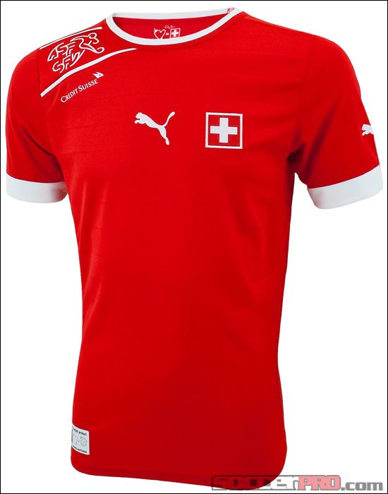 df27d836751 Puma Switzerland Home Jersey 2012... 74.99 Soccer Shirts