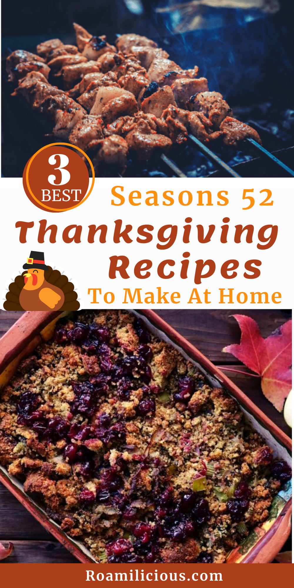 Seasons 52 shares their 3 best Thanksgiving recipes