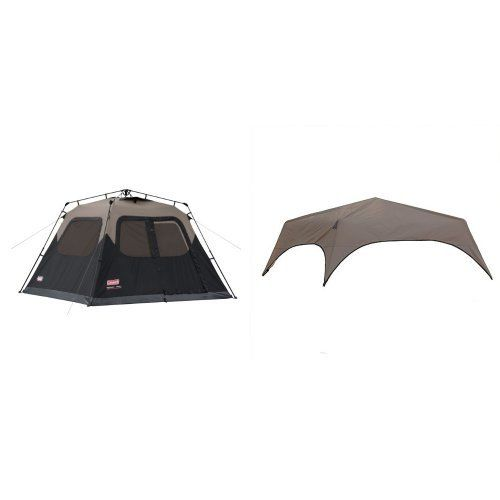 Coleman 6Person Instant Cabin Tent and Coleman 6Person Instant Tent Rainfly Accessory Bundle * You can  sc 1 st  Pinterest & Coleman 6Person Instant Cabin Tent and Coleman 6Person Instant ...