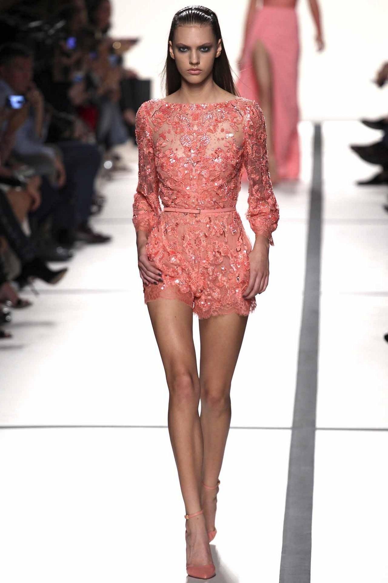 Elie Saab ready-to-wear spring/summer \'14 | Alta moda, Boda y Estilo